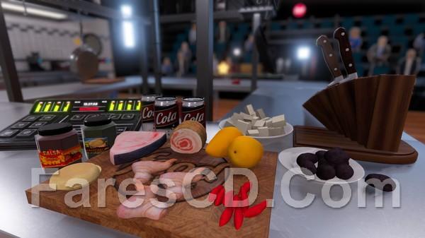 لعبة cooking simulator