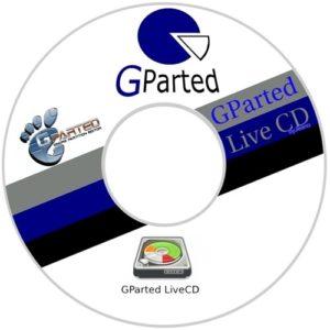 اسطوانة صيانة و تقسيم الهارد   Gnome Partition Editor (GPartEd) Live 1.3.0-1 Stable