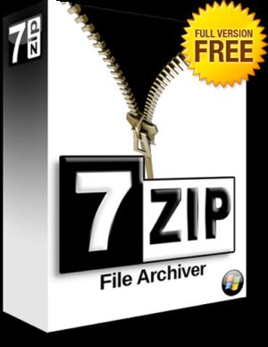 برنامج الأرشفة و فك الضغط الشهير   7Zip 21.02