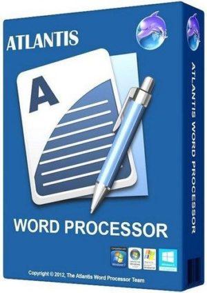 برنامج إنشاء الوثائق والمستندات البسيط   Atlantis Word Processor 4.1.4