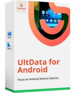 برنامج استعادة البيانات المحذوفة للأندرويد | Tenorshare UltData for Android 6.5.1.0