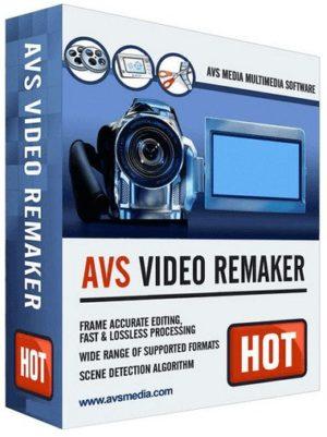 برنامج قص و تعديل الفيديو | AVS Video ReMaker 6.4.5.250