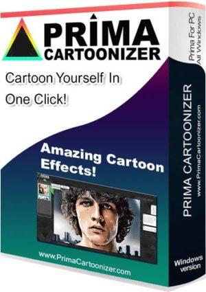 برنامج تحويل الصور لكارتون   Prima Cartoonizer 3.1.7