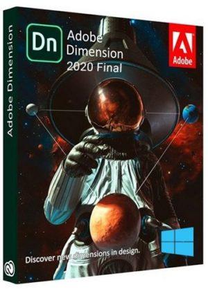 برنامج أدوبى دايمنشن 2021 | Adobe Dimension CC 2020 v3.4.1