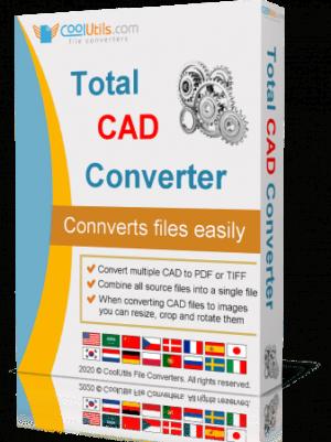 برنامج تحويل ملفات أوتوكاد   CoolUtils Total CAD Converter 3.1.0.182