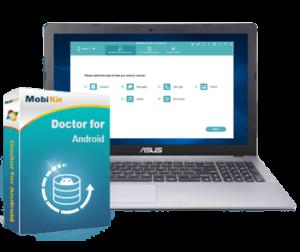 برنامج استعادة المحذوفات للاندرويد | MobiKin Doctor for Android 4.2.49