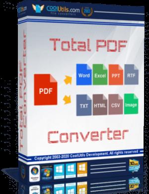 برنامج تحويل ملفات بى دى إف   Coolutils Total PDF Converter 6.1.0.78