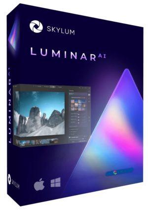 برنامج تحرير الصور بالذكاء الإصطناعى | Luminar AI 1.4.1 (8358) Multilingual