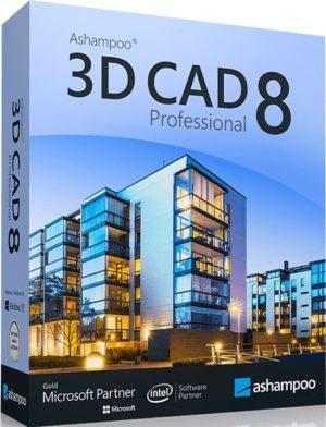 برنامج الرسومات الهندسية المنافس للأوتوكاد | Ashampoo 3D CAD Professional 8.0.0