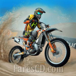 لعبة سباق الدراجات النارية   Mad Skills Motocross 3 MOD v1.1.12   للأندرويد