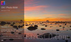 برنامج تحرير الصور 2022 | ON1 Photo RAW 2022 v16.0.1.11212