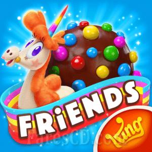 لعبة   Candy Crush Friends Saga MOD v1.64.3   أندرويد