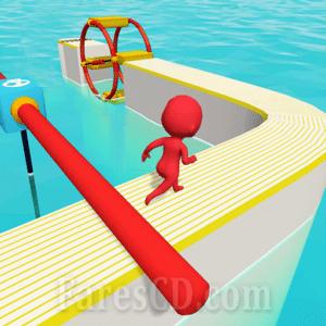 لعبة التسلية و الباركور   Fun Race 3D MOD v1.9.0   أندرويد