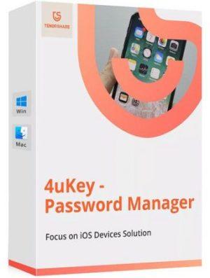 برنامج استعادة كلمات السر لأجهزة أبل   Tenorshare 4uKey Password Manager 2.0.1.11